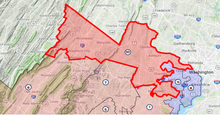 VA House District #10
