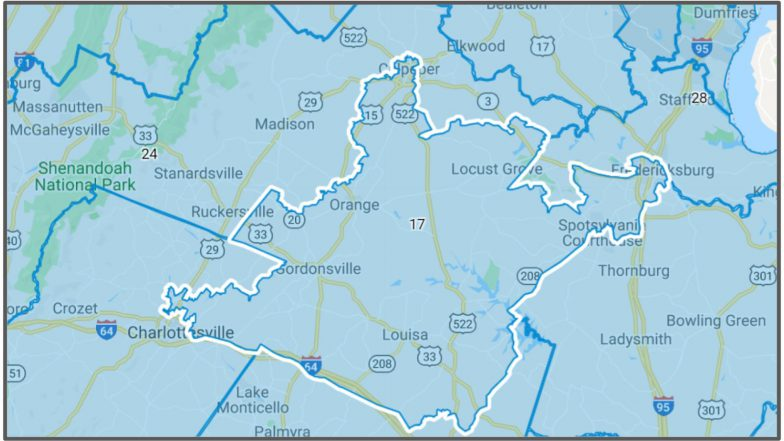 VA Senate District #17