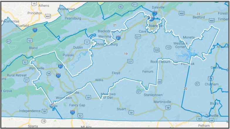VA Senate District #19