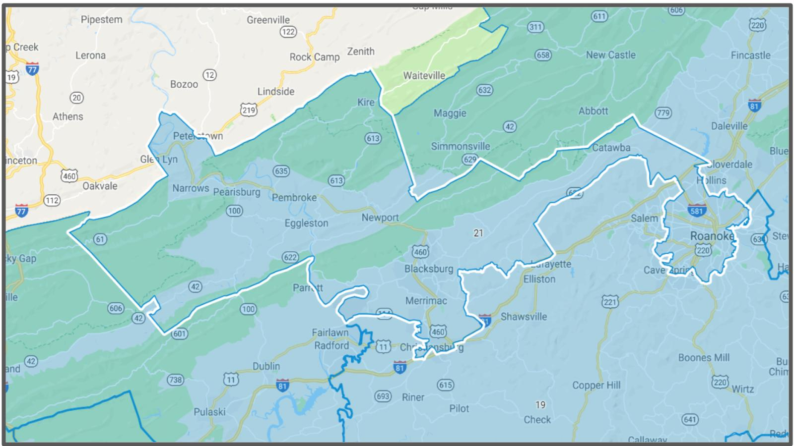 VA Senate District #21