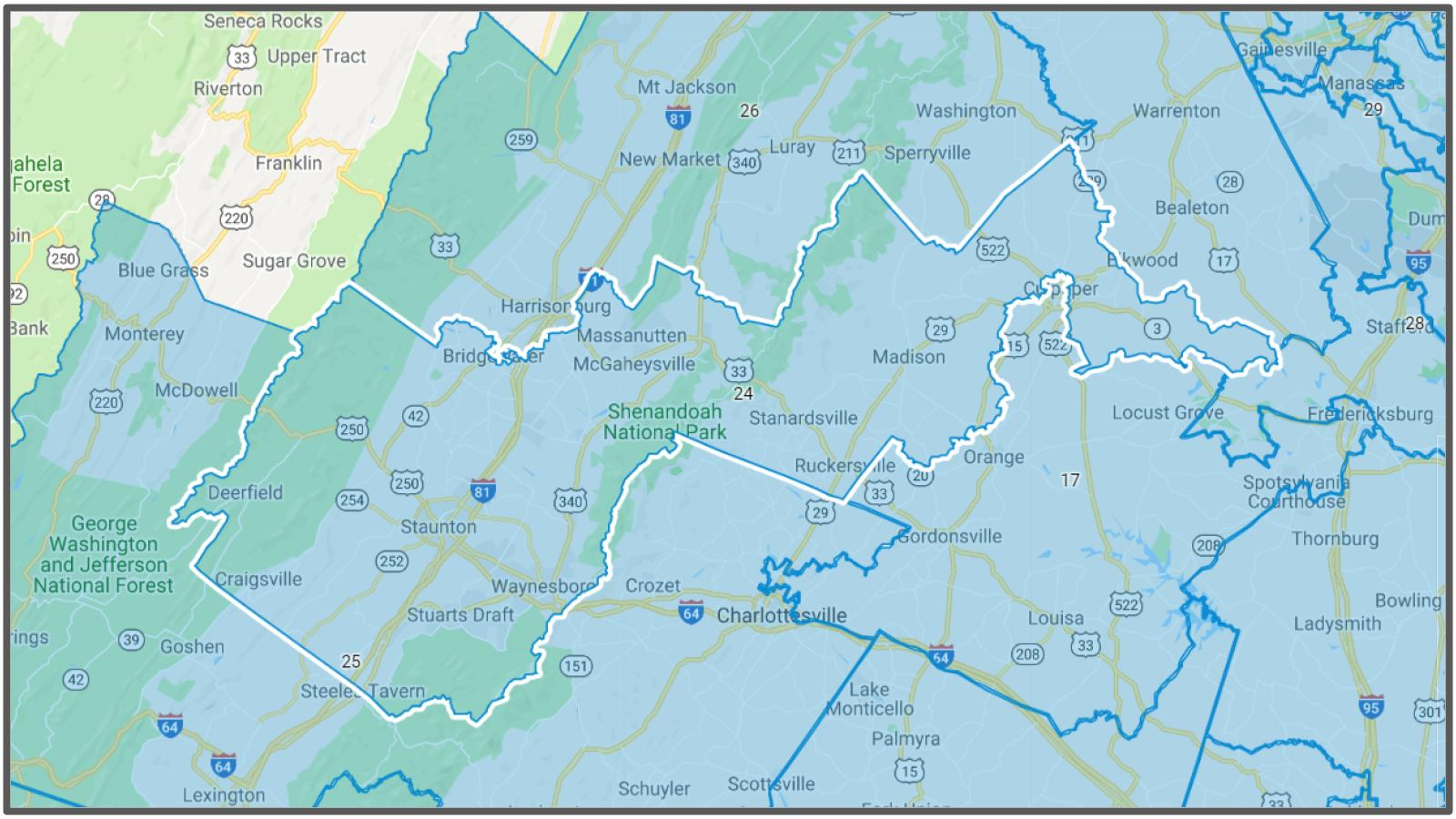 VA Senate District #24