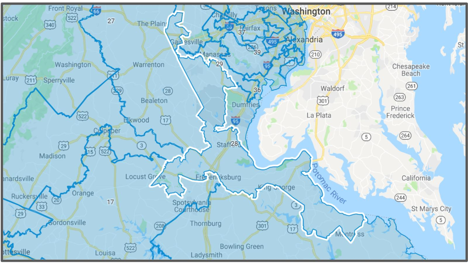 VA Senate District #28