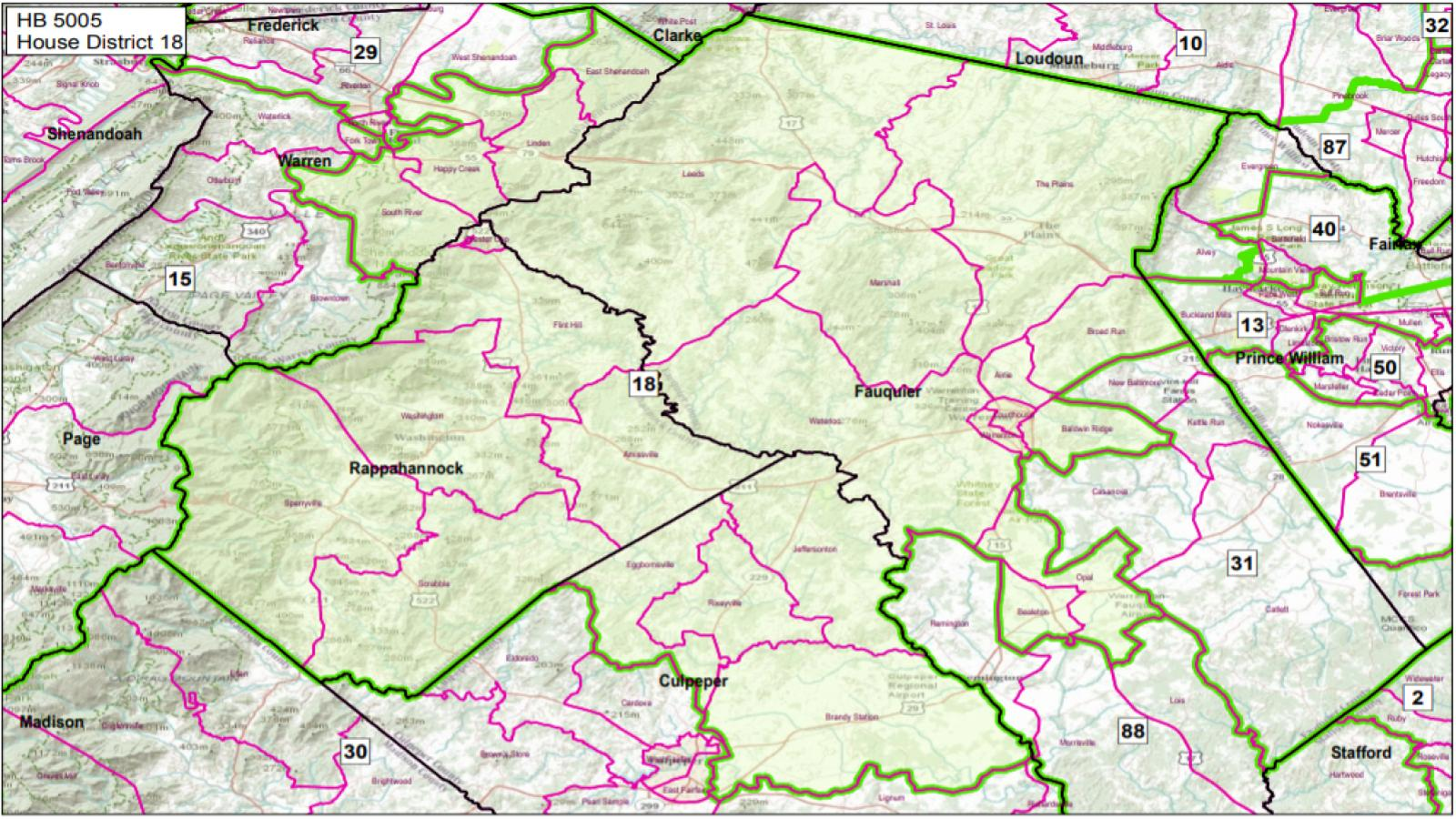 VA State House District #18