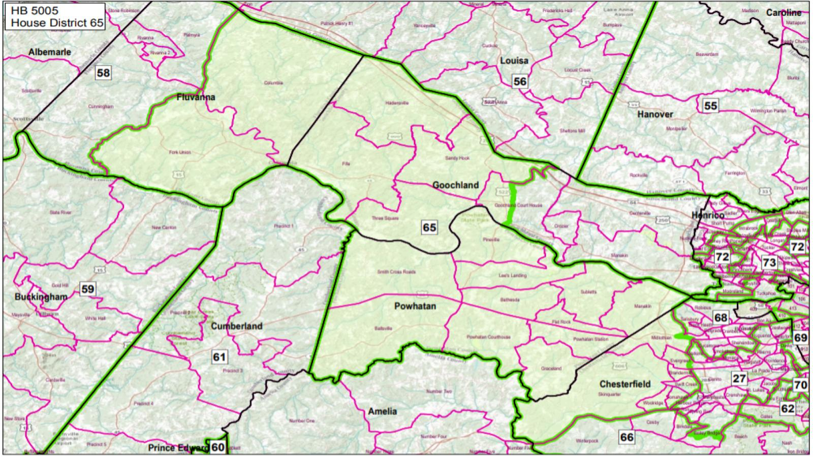 VA State House District #65