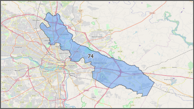 VA House District 74