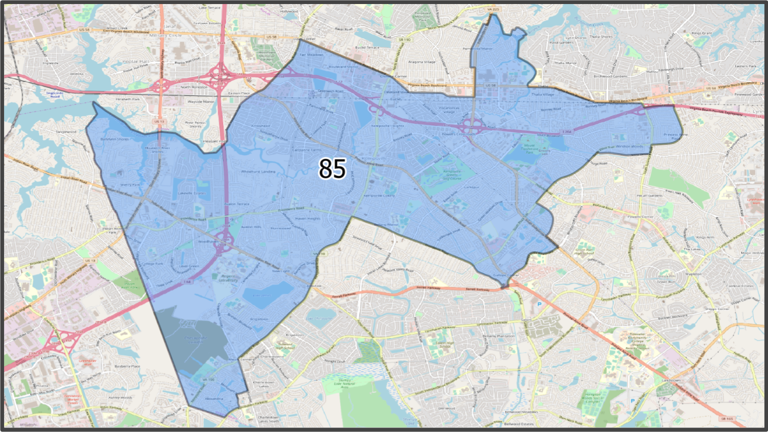 VA House District 85