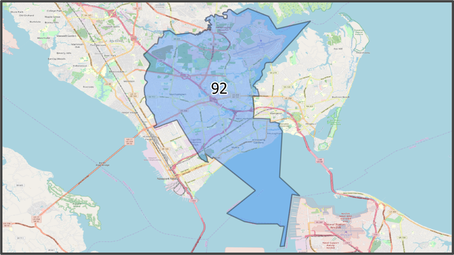 VA House District 92