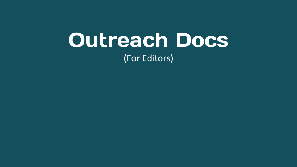 Outreach Docs