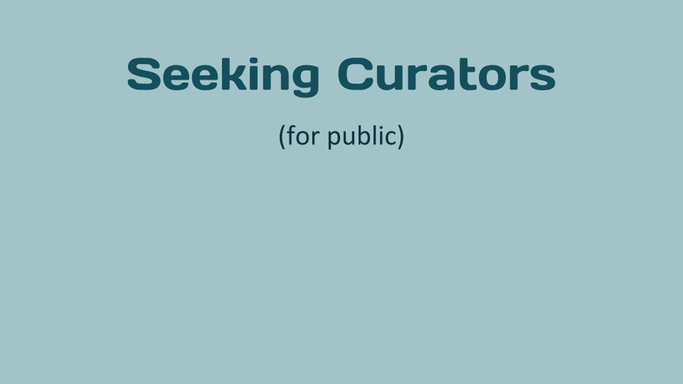 Student Curation Opportunities