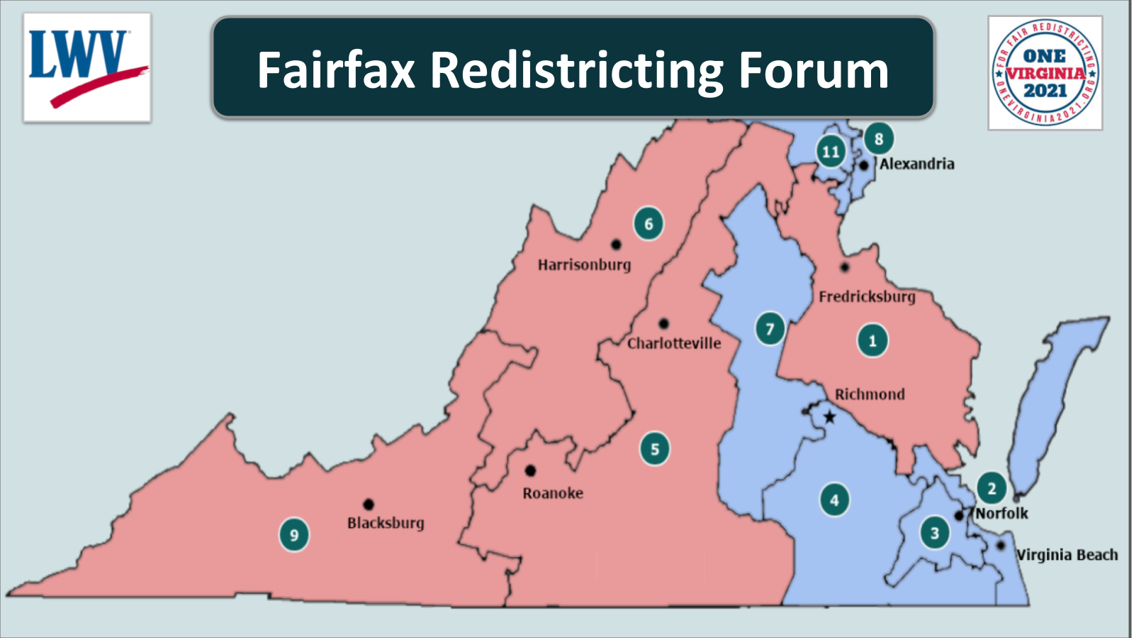Fairfax Redistricting Forum - 11/17/19 1