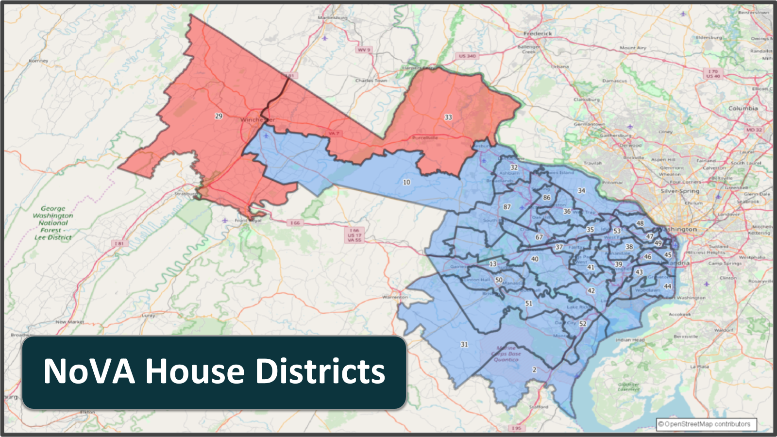 VA House - NoVA Districts 4