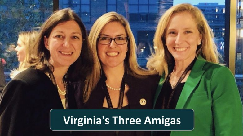 Virginia's Three Amigas