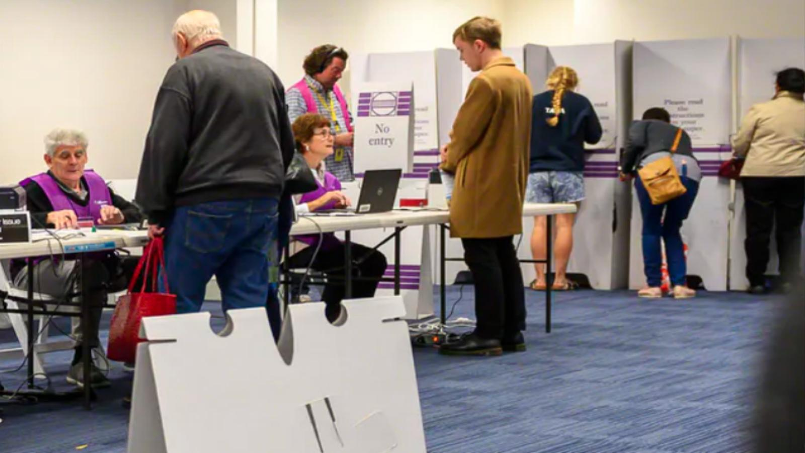 Australia boosts voter turnout